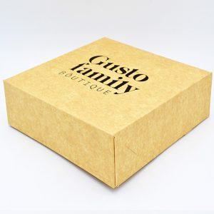 Emballage pâtisserie personnalisé.