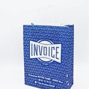 Le sac kraft poignées torsadées pour tous les responsables de boutiques et magasins !