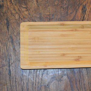 Planche en bois personnalisée rectangulaire.